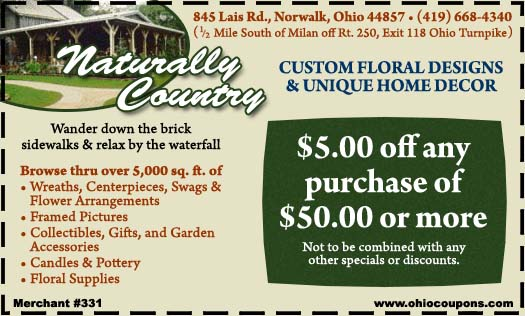 Naturally Country Home Decor Custom Florals and Gifts